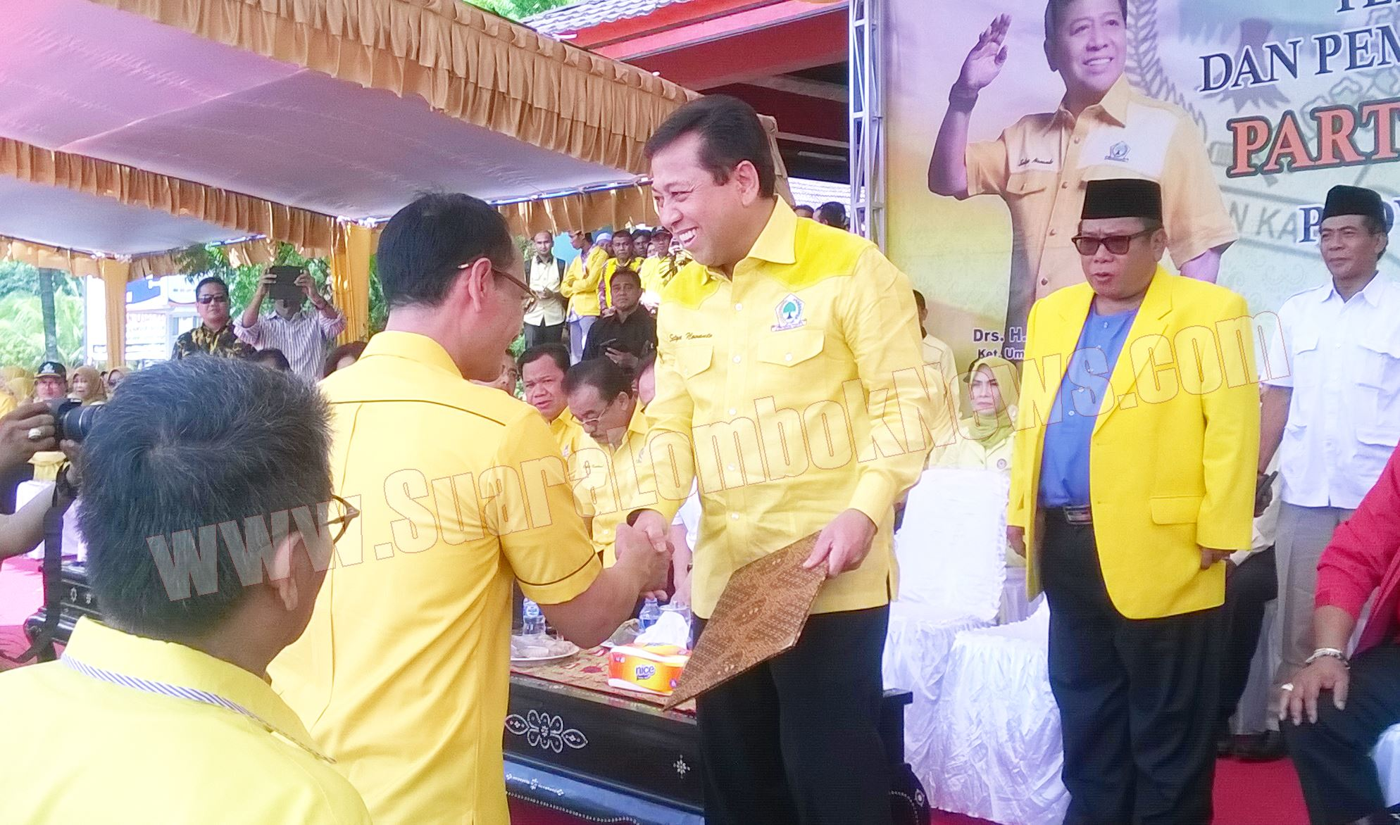 DPD  II Golkar Se – NTB  Deklarasi Dukung Tuan Uhel di Pilgub