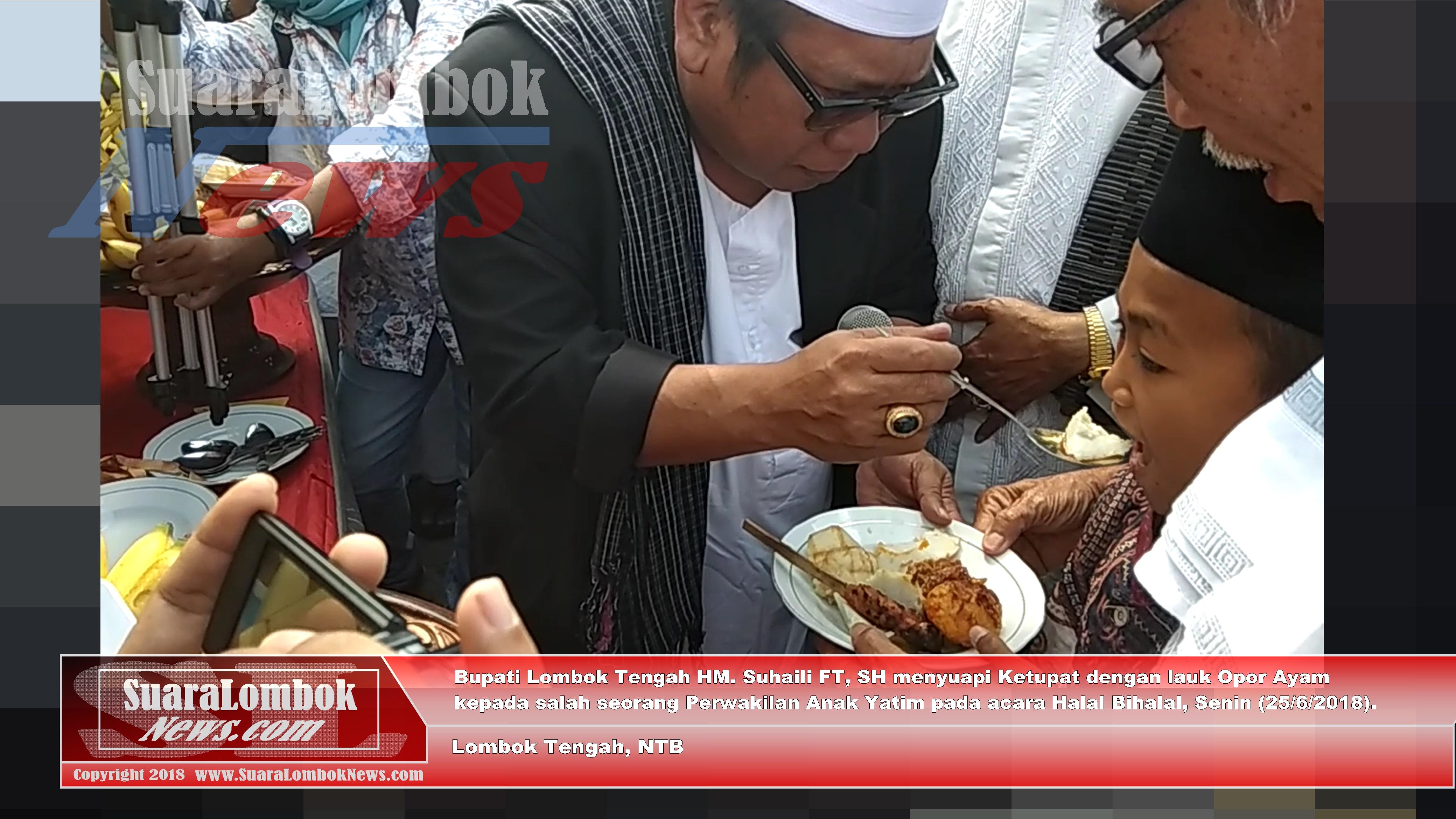 Halal Bihalal Pemkab. Lombok Tengah Berlangsung Khidmat