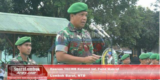 Korem 162/WB Raih Penghargaan Pengelolaan Anggaran Terbaik TNI AD TA. 2017