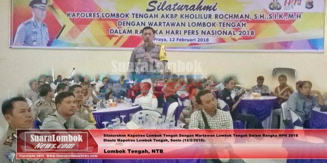 Ini Pesan Kapolres Lombok Tengah di Hari Pers Nasional 2018