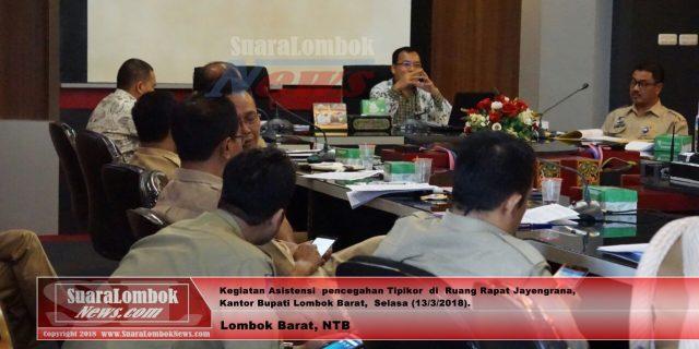 Wow..! Lombok Barat Didampingi KPK