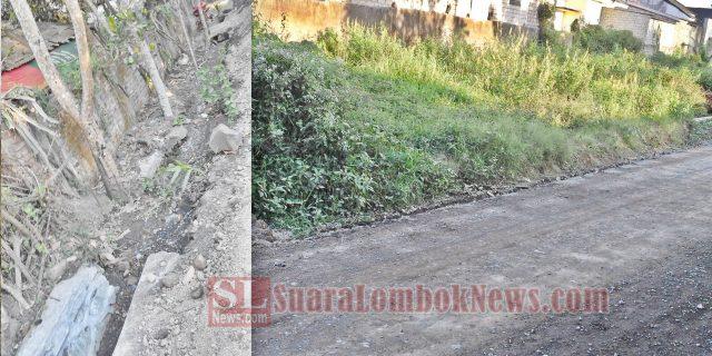 Kualitas Pengerjaan Ruas Jalan Leneng – Tenganan di Sorot Warga
