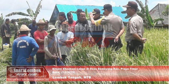 Penyebab Eksekusi Lahan di Desa Semoyang Memanas