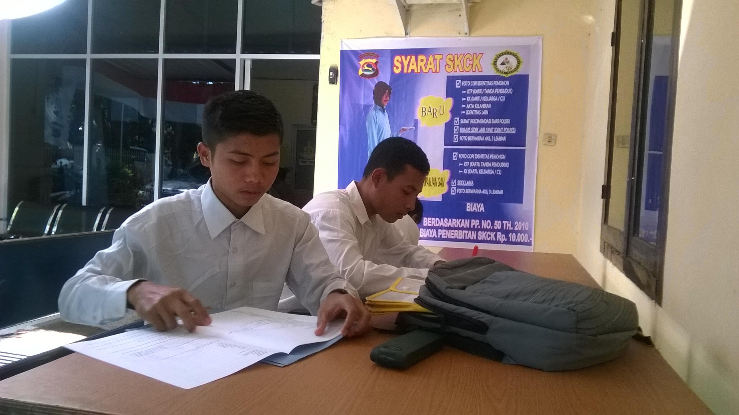 """Pelayanan SKCK Polres Lombok Tengah """"Memuaskan"""""""