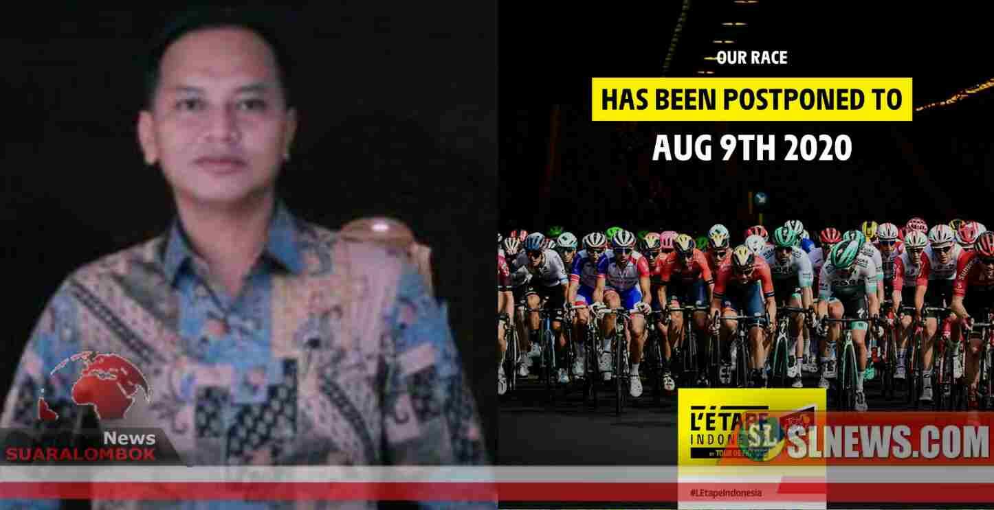 Dampak Virus Corona, L'Etape Indonesia by Tour de France di Lombok Tengah Ditunda