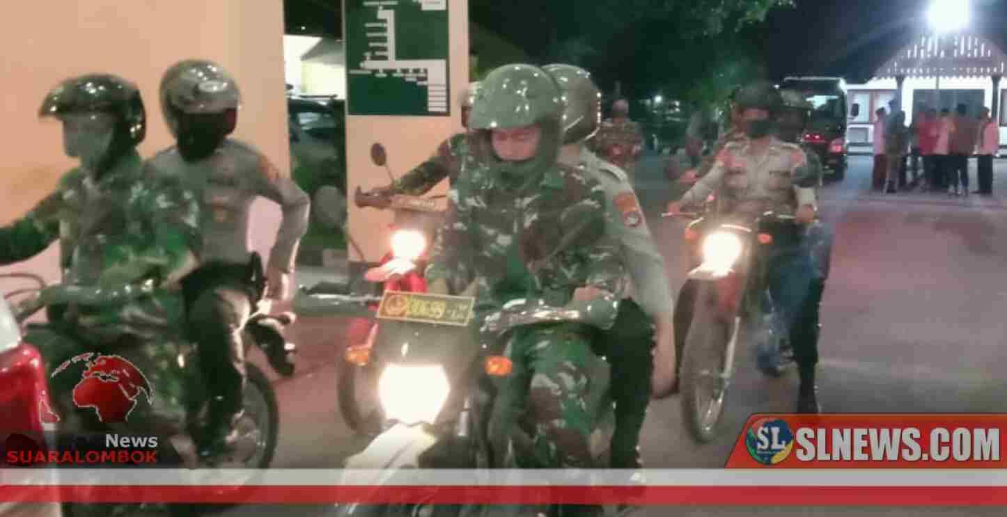Cegah Covid-19. Selama Bulan Puasa, TNI-Polri dan Tokoh Agama di Sumbawa Gelar Patroli Gabungan