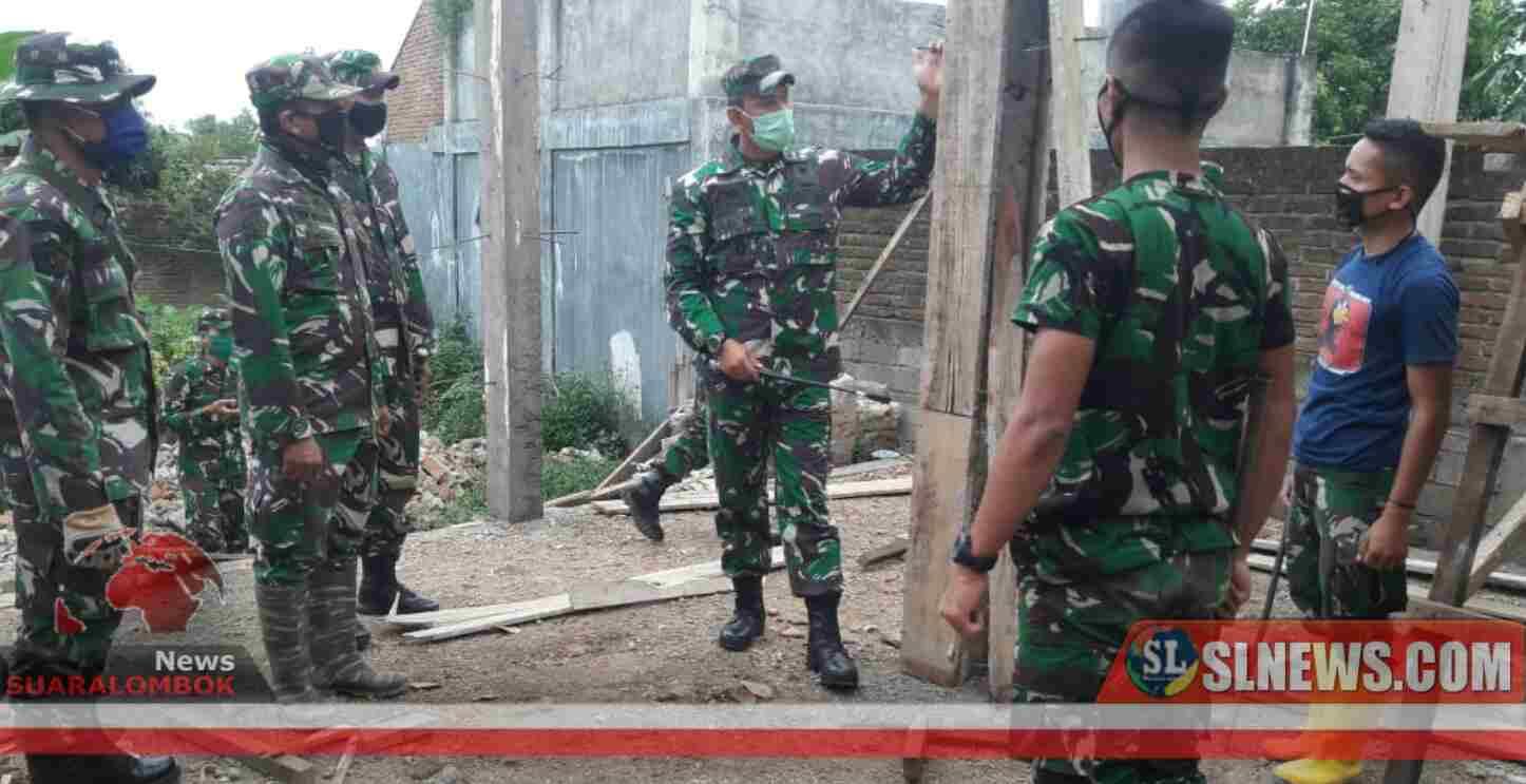 TNI Targetkan Pembangunan RTG di Lombok Tengah Selesai Sebelum Lebaran