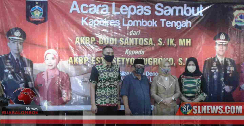 Tinggalkan Lombok Tengah, AKBP Budi Titip Pesan Kepada AKBP Esty