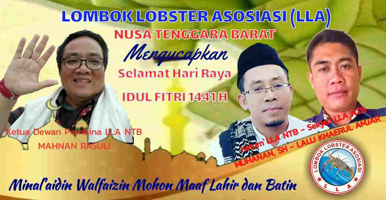 Keluarga Besar LLA NTB Mengucapkan Selamat Hari Raya Idul Fitri 1441 H