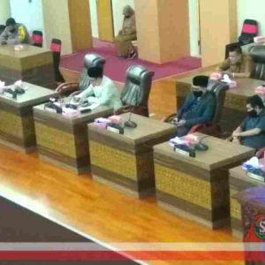 H. Lalu Pathul Sampaikan KUPA-PPAS Perubahan APBD Lombok Tengah 2020 ke Dewan