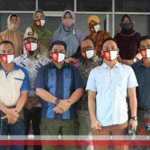 HUT RI ke-75, IKAPTK NTB dan TP PKK NTB Bagi Ribuan Masker