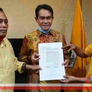 Setelah Surat Pengesahan Calon, Pathul - Nursiah Tunggu SK B1-KWK Golkar
