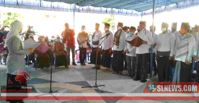 Lawan Rentenir, Nursiah Dilantik Jadi Ketum MES Lombok Tengah