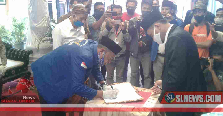 KPU Lombok Tengah Nyatakan Dokumen Pencalonan AHZ - Aswantara Lengkap dan Memenuhi Persyaratan
