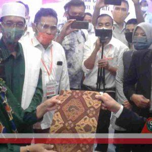 KPU Lombok Tengah Nyatakan Persyaratan Pencalonan PAS Lengkap dan Memenuhi Persyaratan