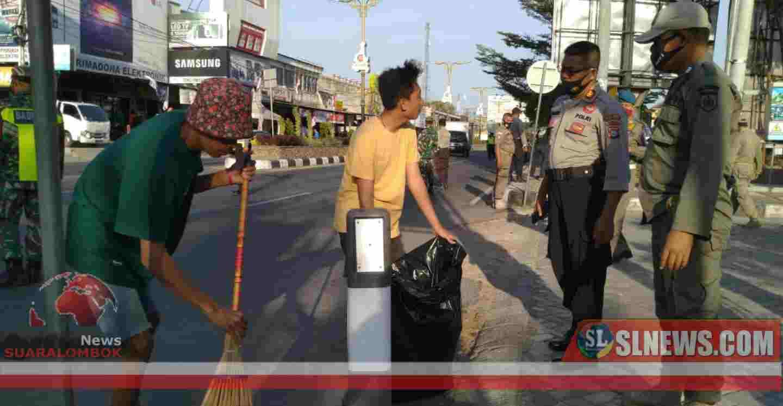 Ops Yustisi, Kesadaran Masyarakat Menggenakan Masker di Lombok Tengah Masih Kurang