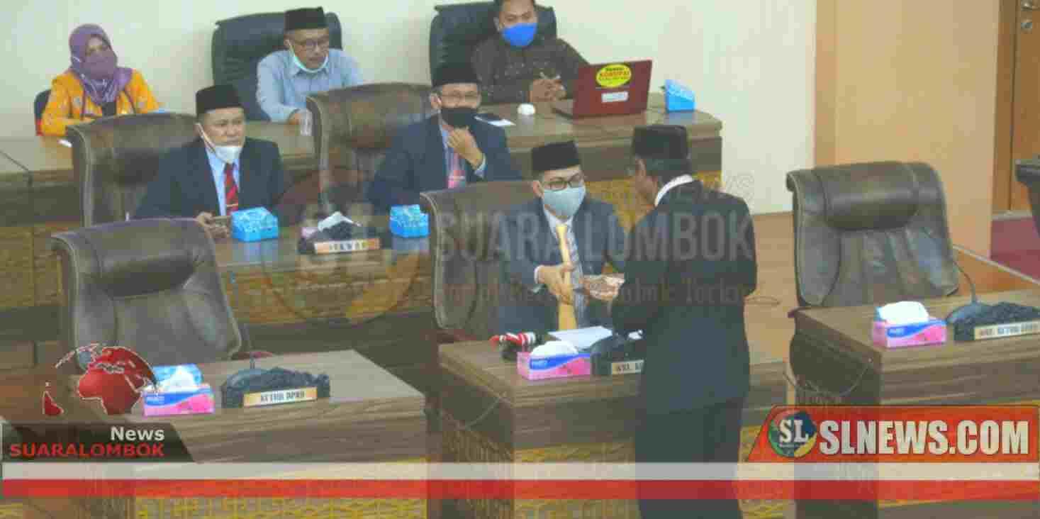 7 dari 9 Fraksi di DPRD Lombok Tengah Setuju Ranperda Menjadi Perda Perubahan APBD Lombok Tengah 2020