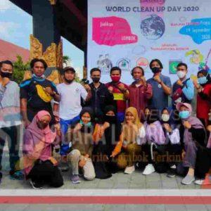 C3 Lombok Gelar World Celan Up Day 2020
