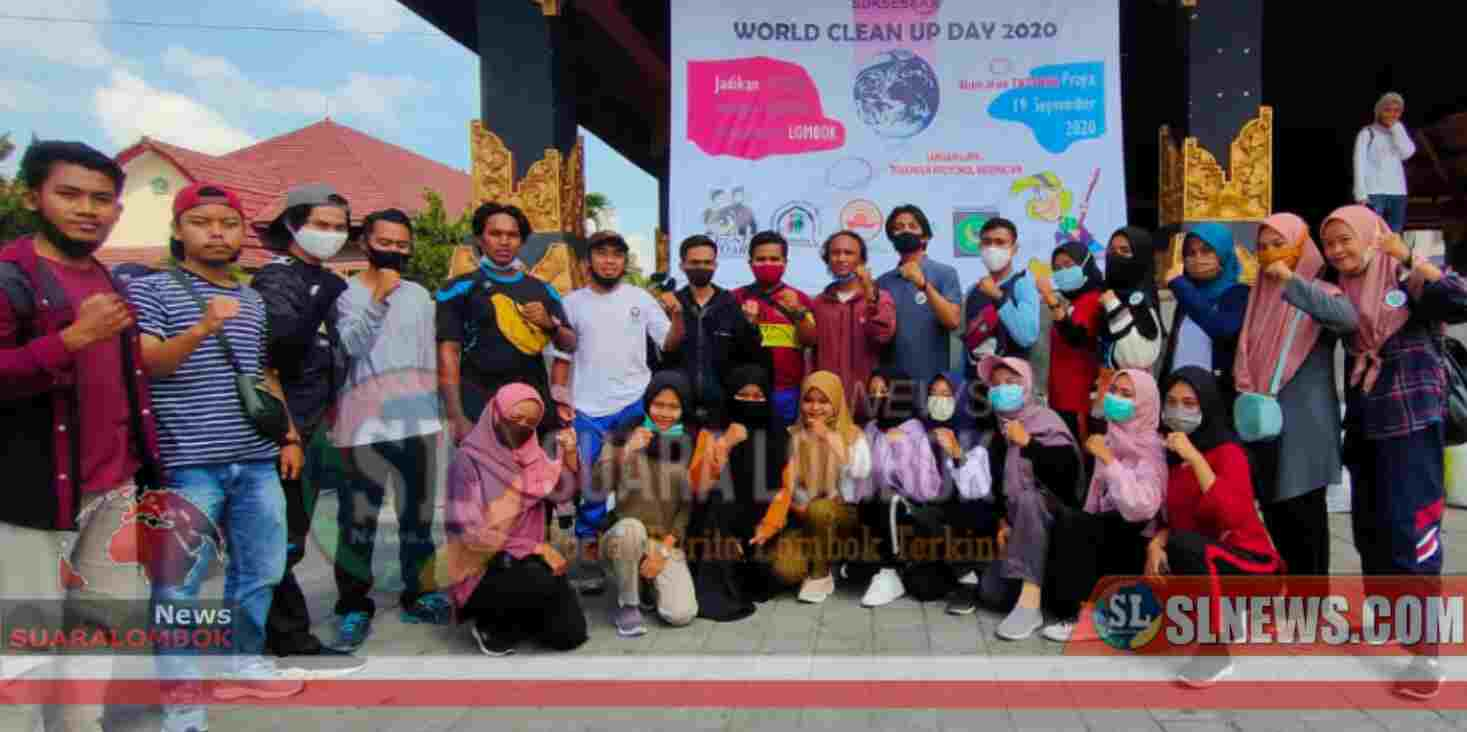 C3 Lombok Gelar World Celan Up Day 2020