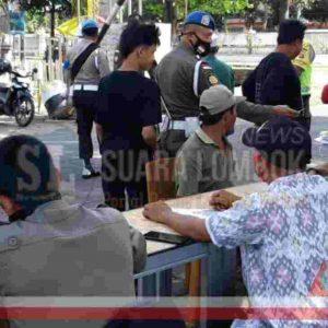 Selama Enam Hari, Denda Bagi Pelanggar Masker di Lombok Tengah Capai Rp. 8,5 Juta