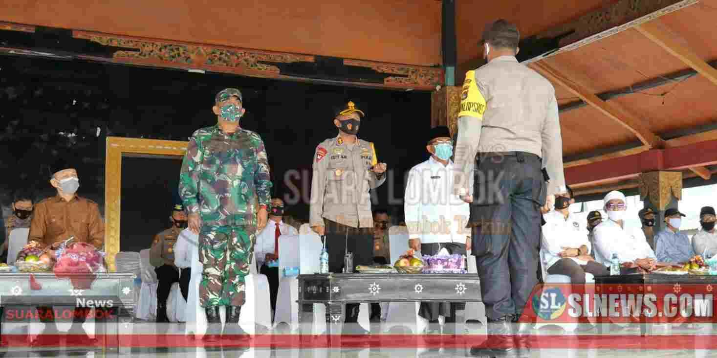 Polisi Perketat Pengamanan di Wilayah Perbatas di Pilkada Lombok Tengah 2020