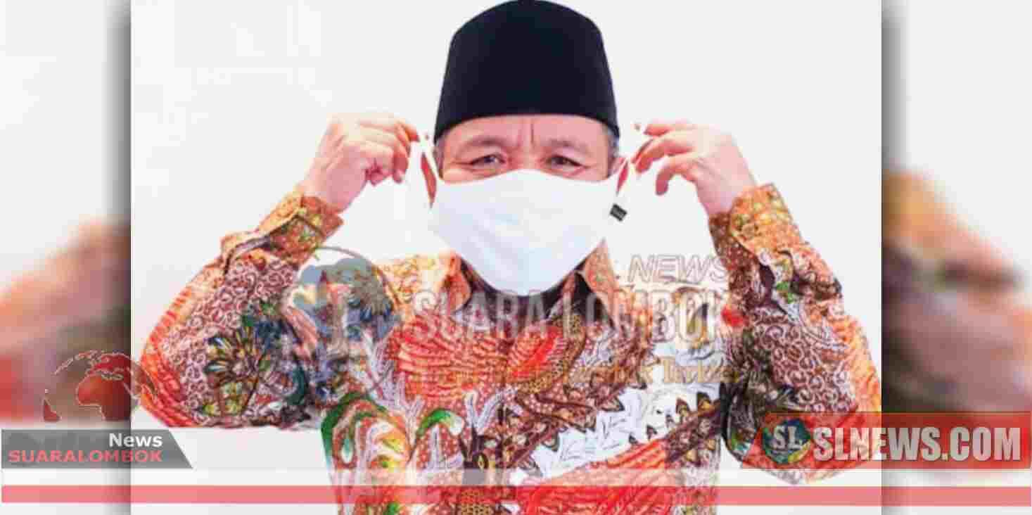 NADI Bentuk Relawan Peduli Gerakan Bermasker di Lombok Utara