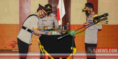 Sertijab di Polres Lombok Tengah 2020