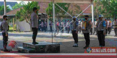Upacara PTDH di Polres Lombok Tengah