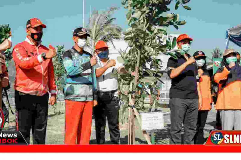 Penanaman Pohon di Kek The Mandalika Lombok