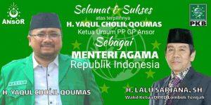 Ucapan Selamat Wakil Ketua DPRD Lombok Tengah