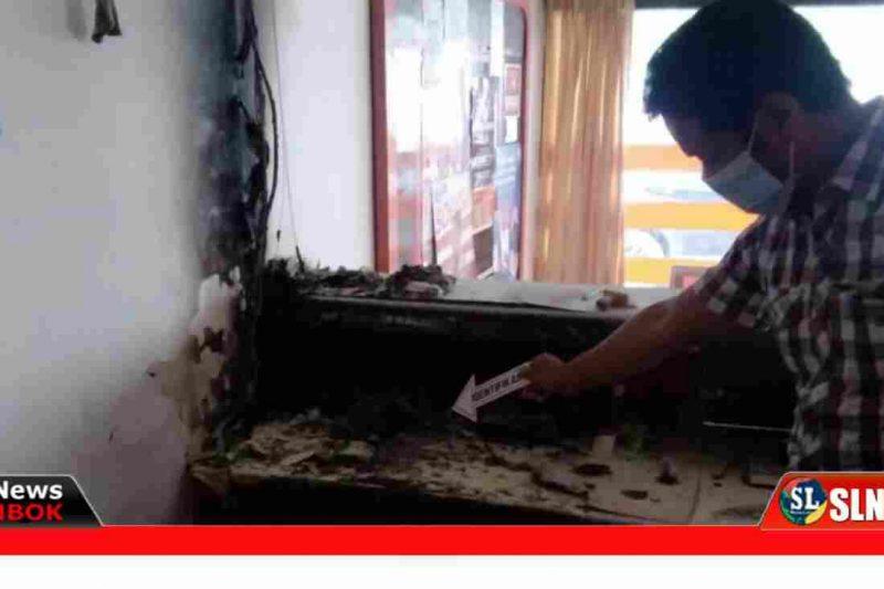 Kantor PT Pos Terbakar