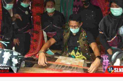 Kerajinan Tenun khas sasak Lombok