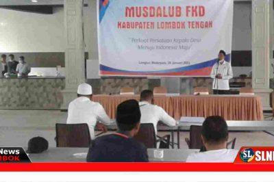 Musdalub FKD Lombok Tengah Tahun 2021