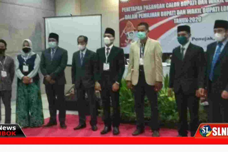 Rapat Pleno Penetapan Bupati dan Wakil Bupati Lombok Tengah Terpilih