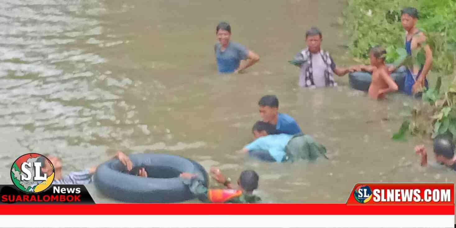 Tim Gabungan Temukan jasad korban terseret arus sungai di Lombok Tengah