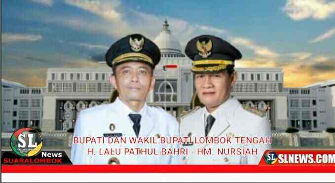 Ucapan selamat kepada bupati dan wakil bupati Lombok Tengah