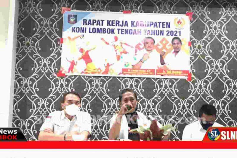 Rakerkab KONI Lombok Tengah