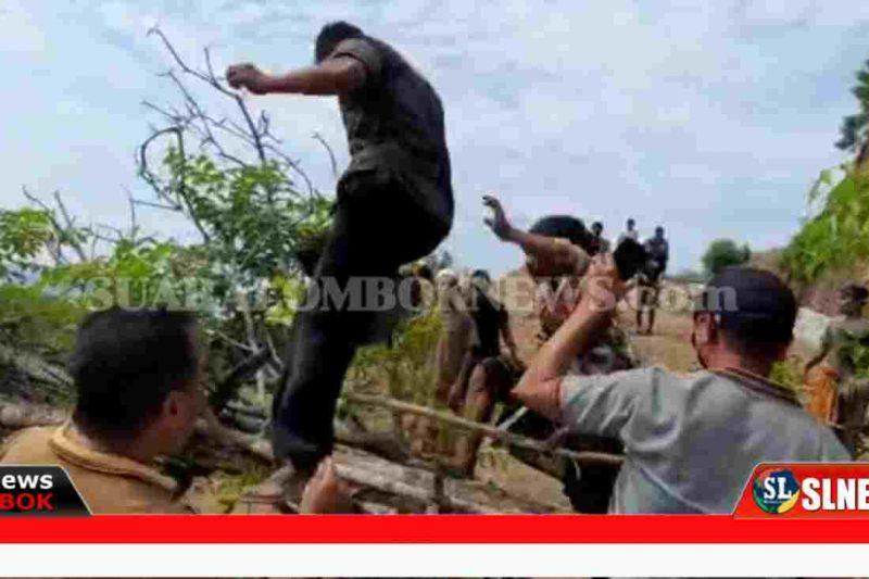 Samara Hill vs Warga Desa Montong Ajan