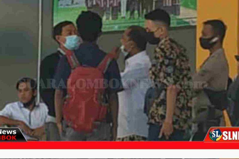 Oknum Anggota Sat Pol PP Lombok Timur