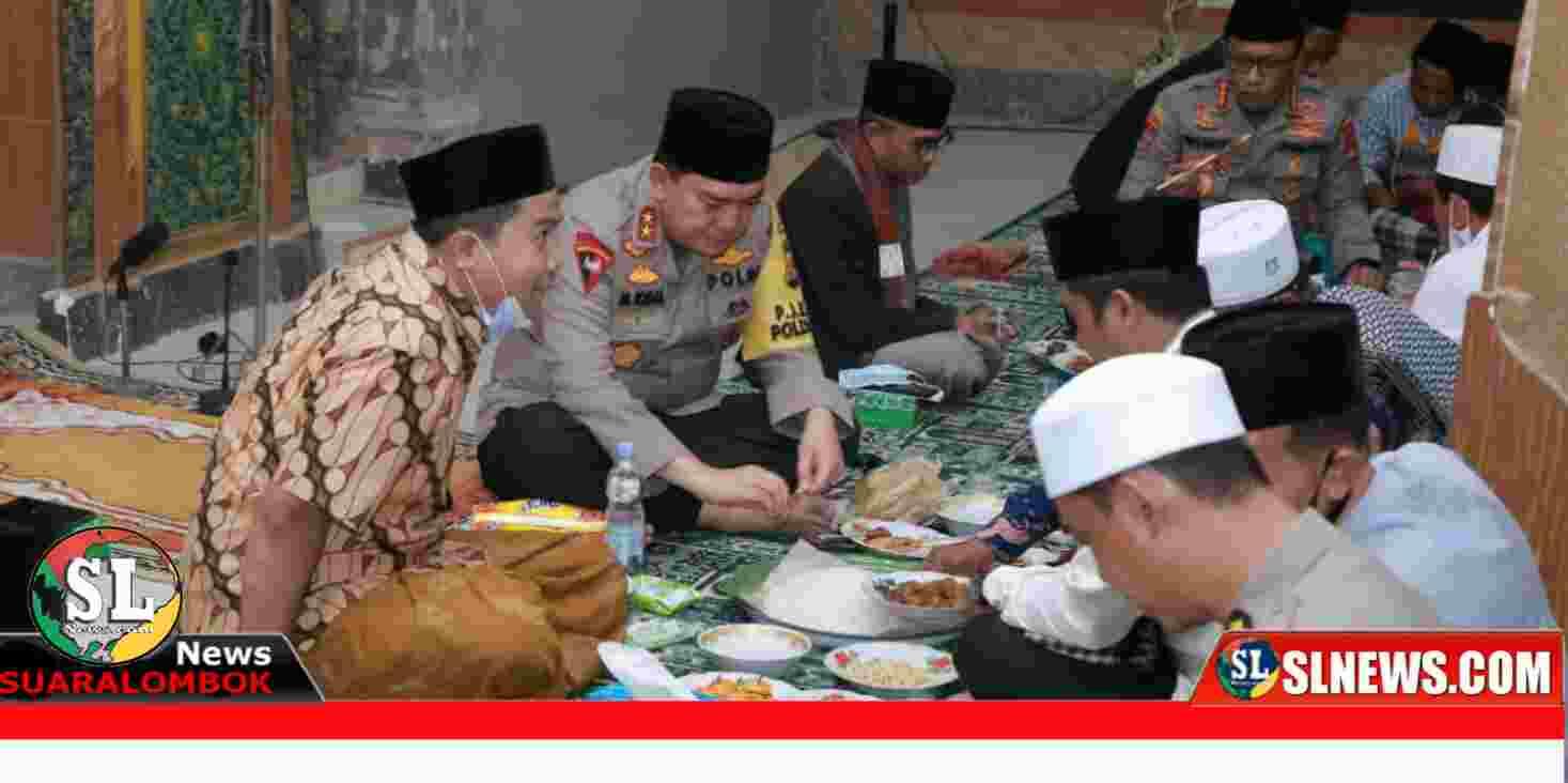Safari Ramadhan Kapolda NTB