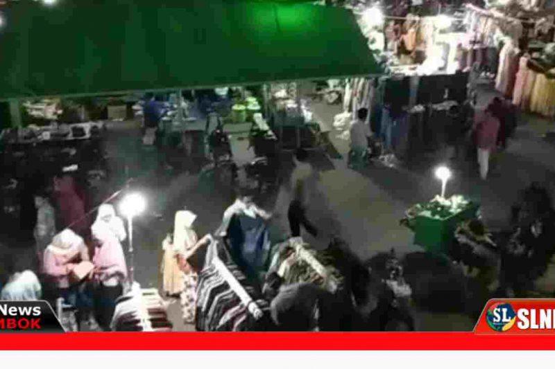 Pasar Tumpah Jelang Lebaran