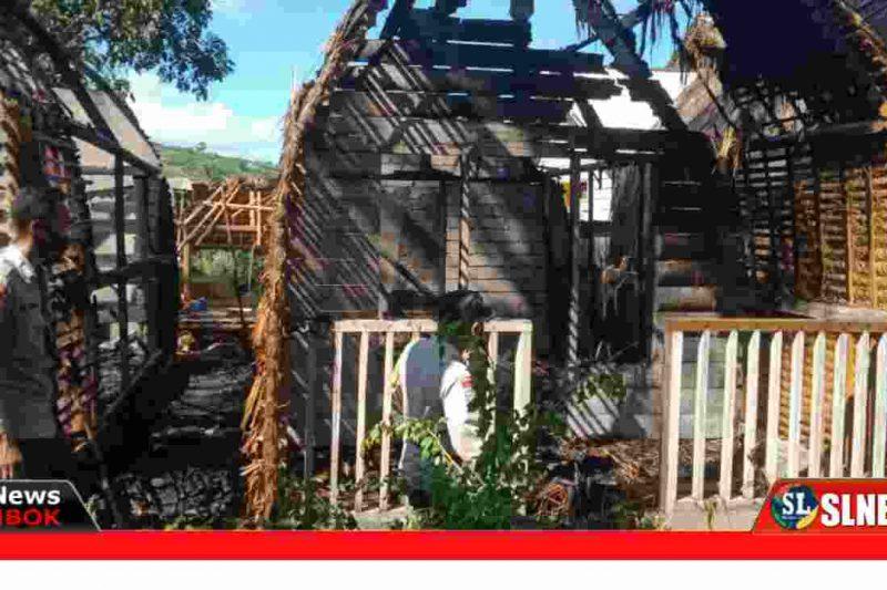 Bangunan Villa Terbakar