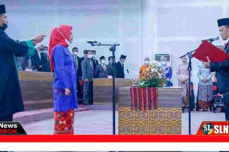 Pelantikan Anggota Dewan Lombok Tengah