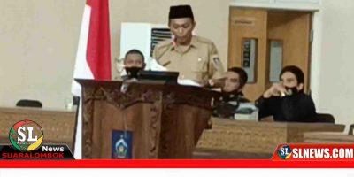 Rapat Paripurna DPRD Lombok Tengah