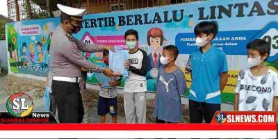 Satlantas Polres Lombok Tengah