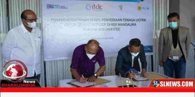 PLN Tandatangani Perjanjian dengan ITDC