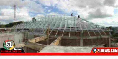Proyek Gedung Mapolres Lombok Tengah