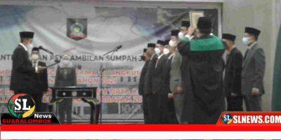 Mutasi Pejabat Lingkup Pemkab Lombok Tengah