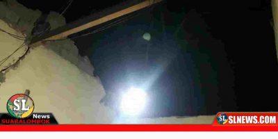 Bencana Alam Angin Puting Beliung di Lombok Tengah