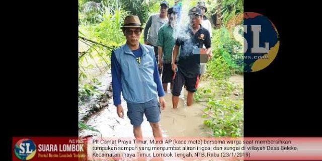 Diguyur Hujan, Kecamatan Praya Timur Nyaris Tenggelam